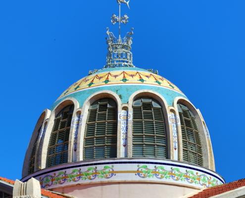 Mercado Central - dettaglio cupola