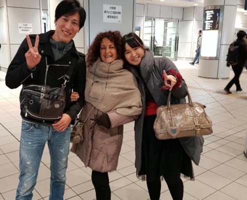 incontri nella metropolitana di Tokyo